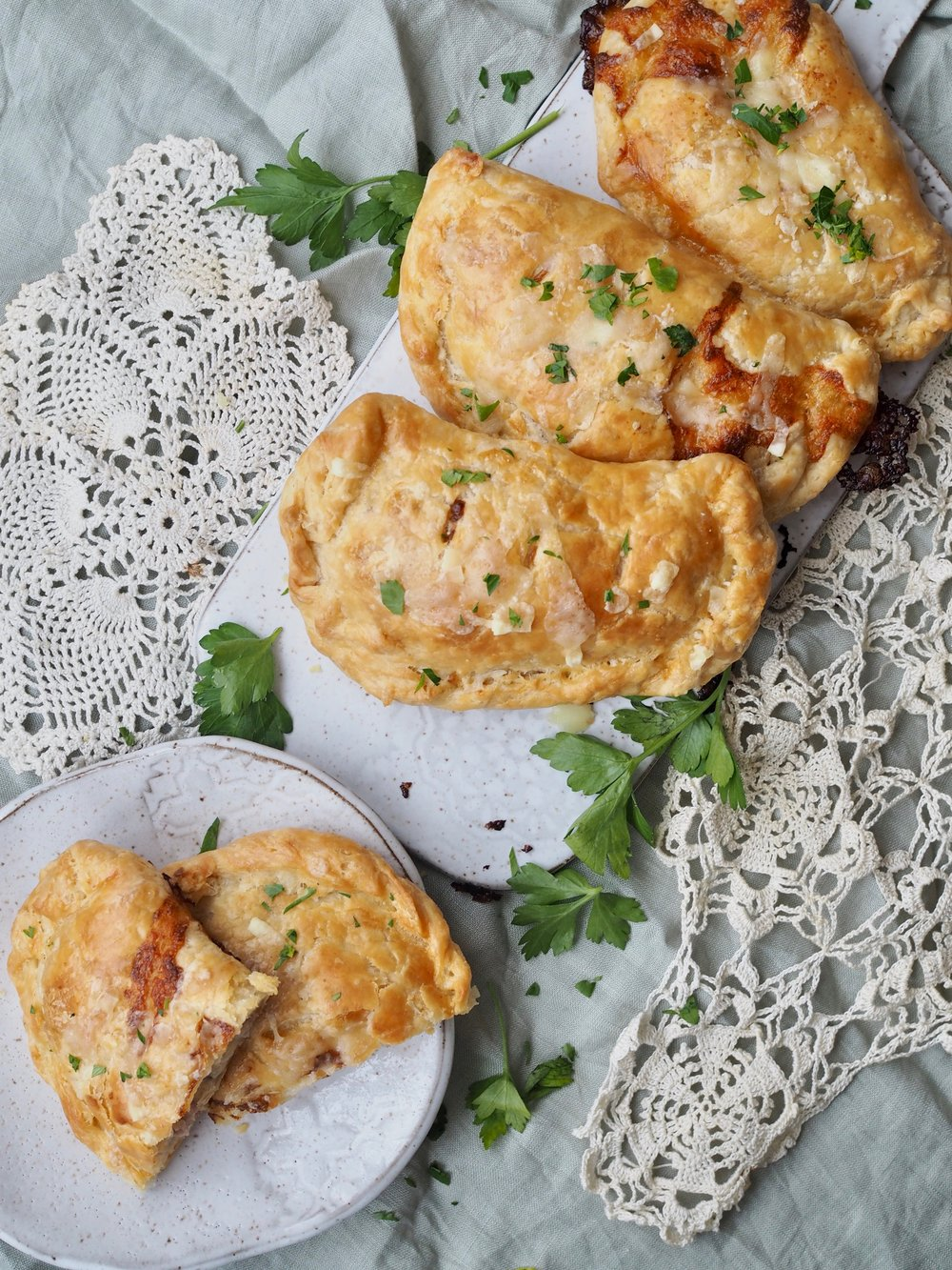 Croque Monsieur Handpies - recipe by Ms. Cleaver