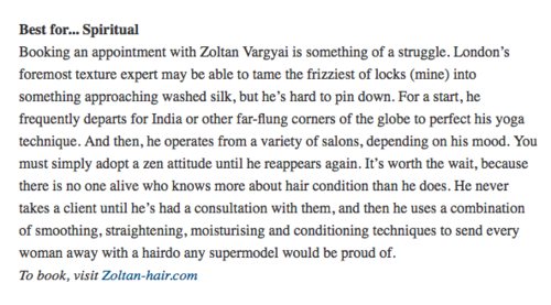 zoltan hair on harpers bazaar online