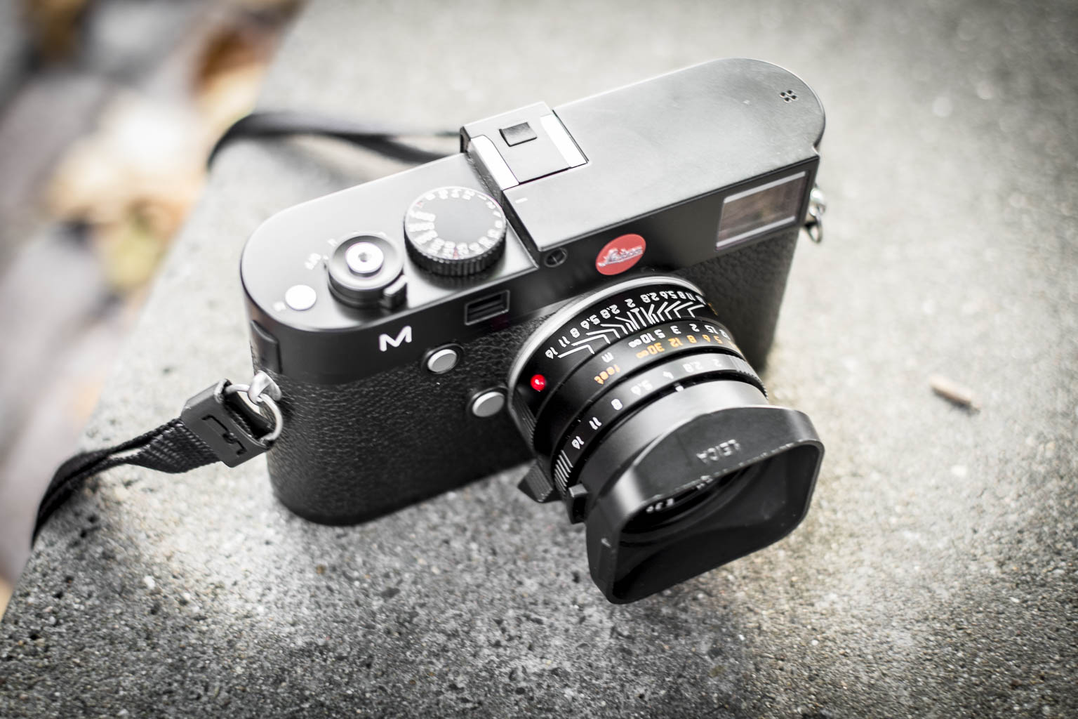 Leica M type 240 with summicron 35