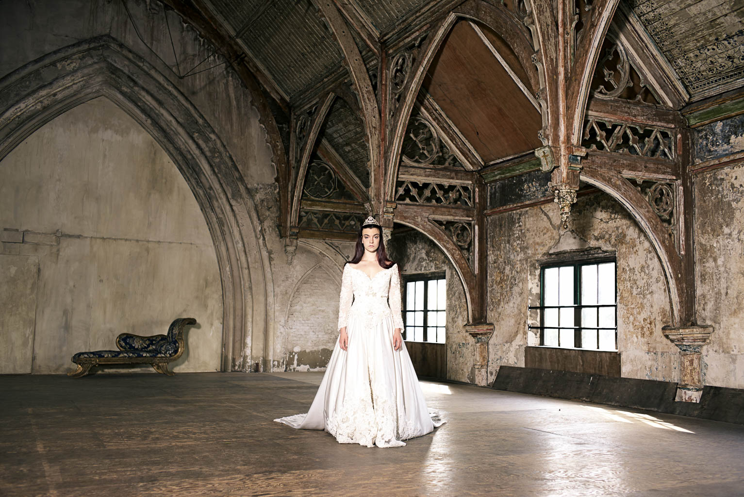 Leica M, bridal queen metaal kathedraal