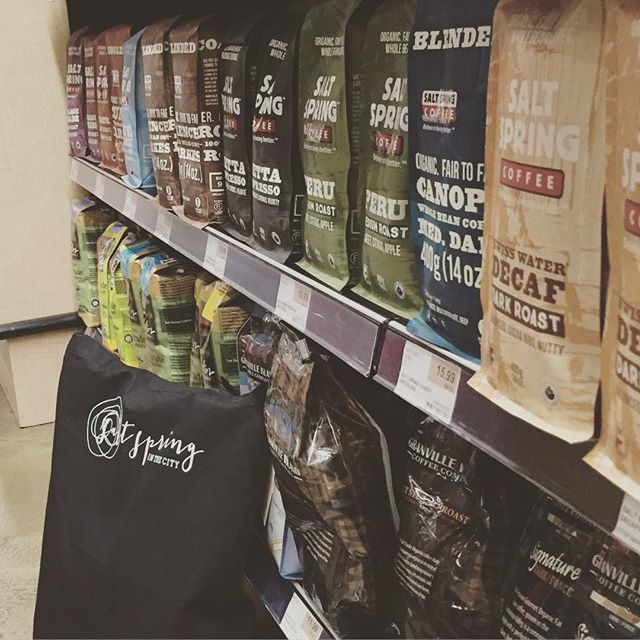 #YVR SCAVENGER HUNT 4th location.  Can you guess where this is?  This #Mainstreet grocery store is fully stocked with @saltspringcoffee. If you know where it is just walk in and claim your prize.  #yvrscavengerhunt #swagbag #contest #ssinthecity #yvrevents #saltspringcoffee