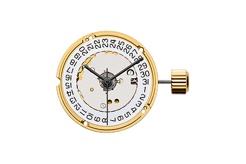 ETA F04.111 - ETA is maybe the most renowned manufacturer of movements, founded in 1793, and is the producer of the quartz movements for the BW002 and BW102 models.The movement is called F04.111 and has hour, minute and second hands, as well as date. It also features an end-of-life indicator, with the second hand jumping 5 seconds at a time to indicate when it´s time to change the battery.
