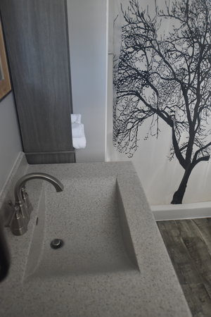 Lucky Horseshoe Cottage #17 - Interior Bathroom Sink.JPG
