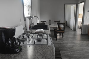 Lucky Horseshoe Cottage #17 - Interior Kitchen Counter.JPG