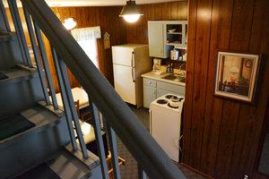 ucky Horseshoe Cottage #16 - Interior Stairs.JPG