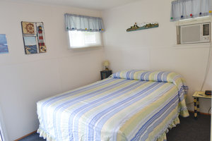 Lucky Horseshoe Room #25 Barrier Free - Interior Queen Bed.JPG