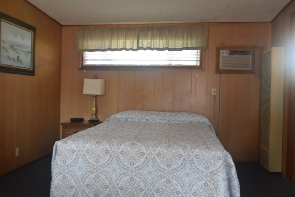 Blue Spruce Motel - Room Number 3 - Interior Queen Size Bed.jpeg