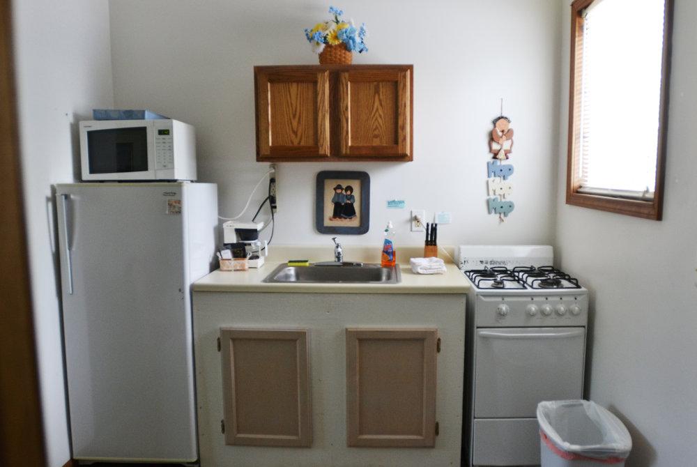 Blue Spruce Motel - Suite Number 6 - Interior Kitchenette.jpeg