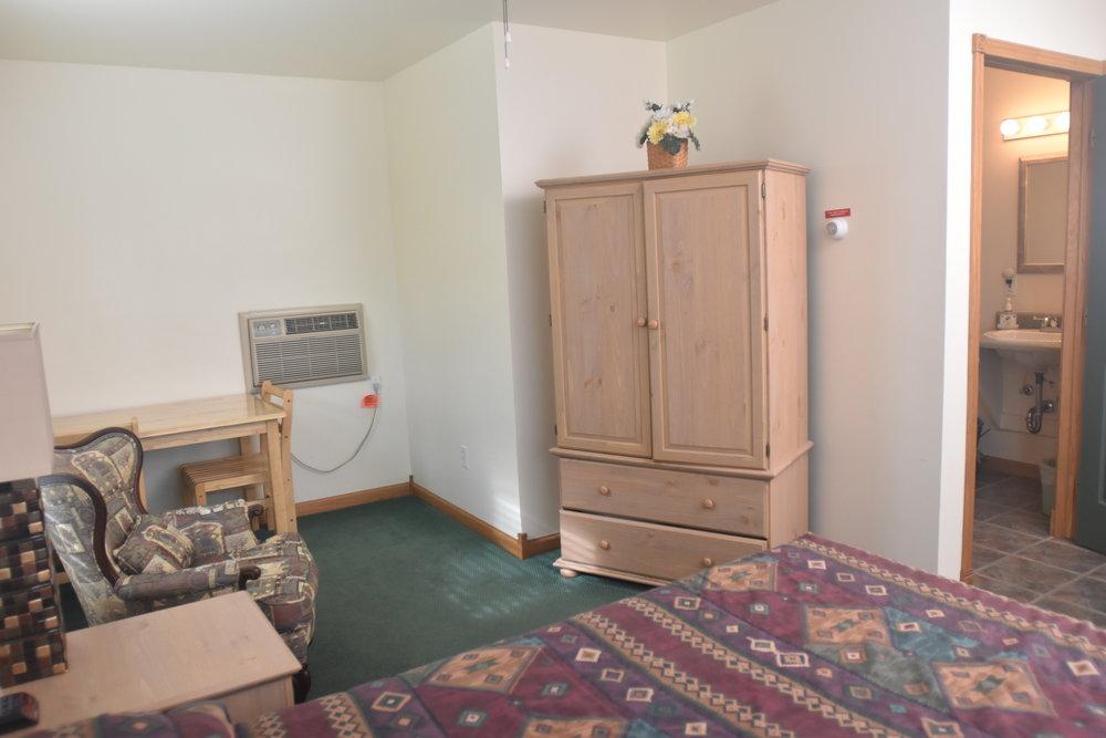 Blue Spruce Motel - Room Number 8 - Interior Entertainment Center - Barrier Free.jpeg