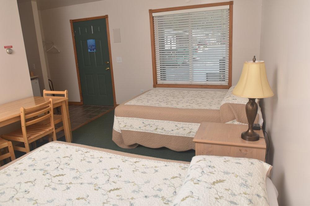 Blue Spruce Motel - Room Number 10 - Interior Beds and Entry.jpeg