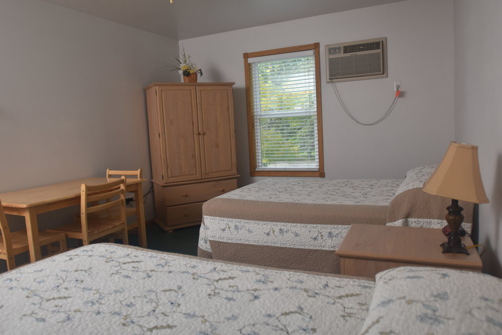 Blue Spruce Motel - Room Number 13 - Interior Beds and Entertainment Center.jpeg