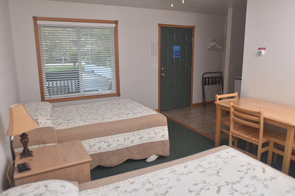 Blue Spruce Motel - Room Number 13 - Interior Beds and Entry.jpeg