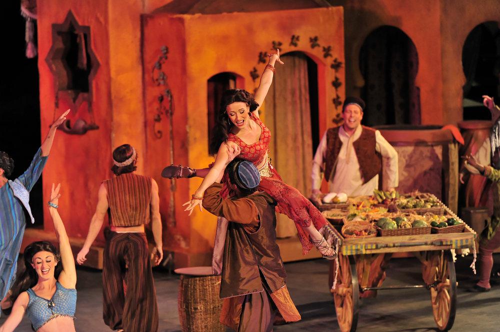 Disney's Aladdin, Tuacahn Amphitheatre
