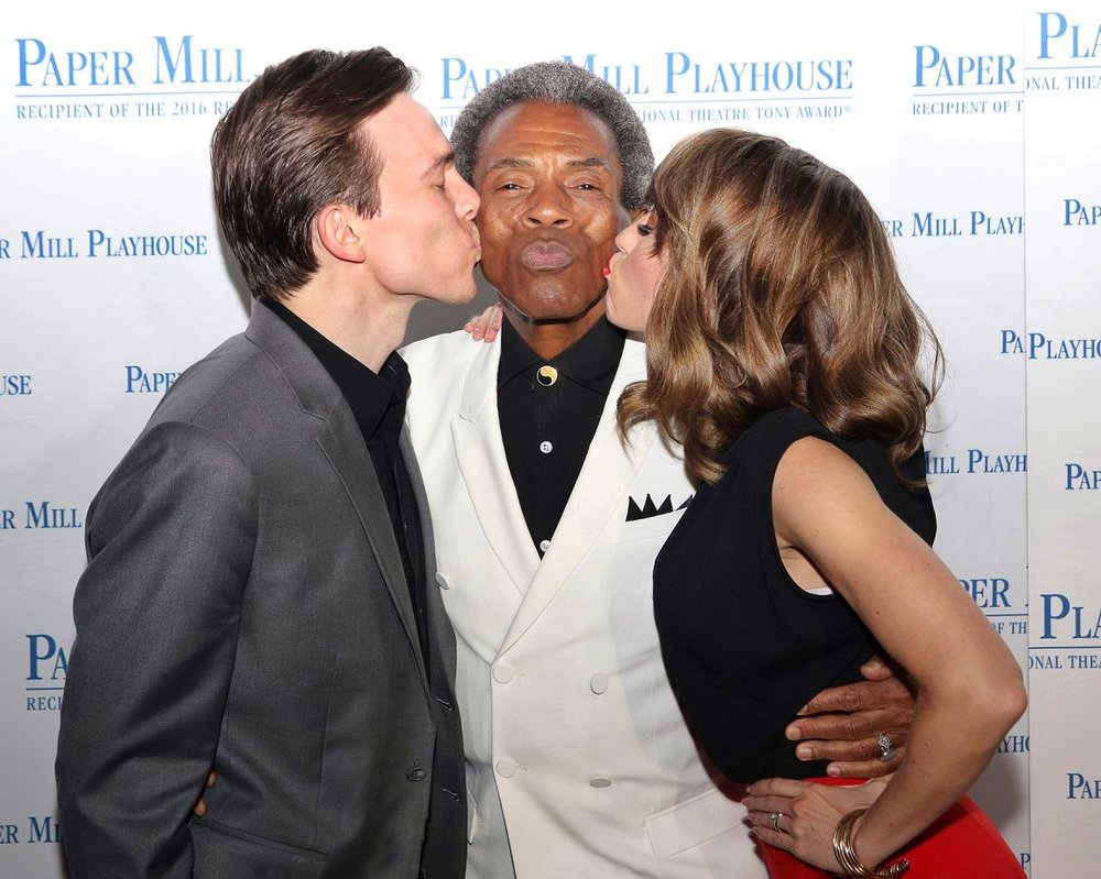 Half Time, Opening Night at Paper Mill Playhouse  Spencer Stevens & Andre De Shields