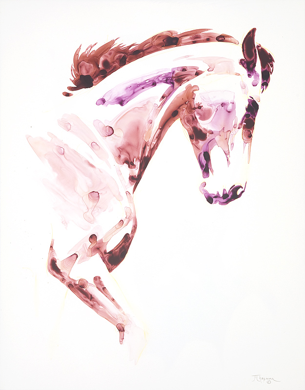 Garnet Horse #1