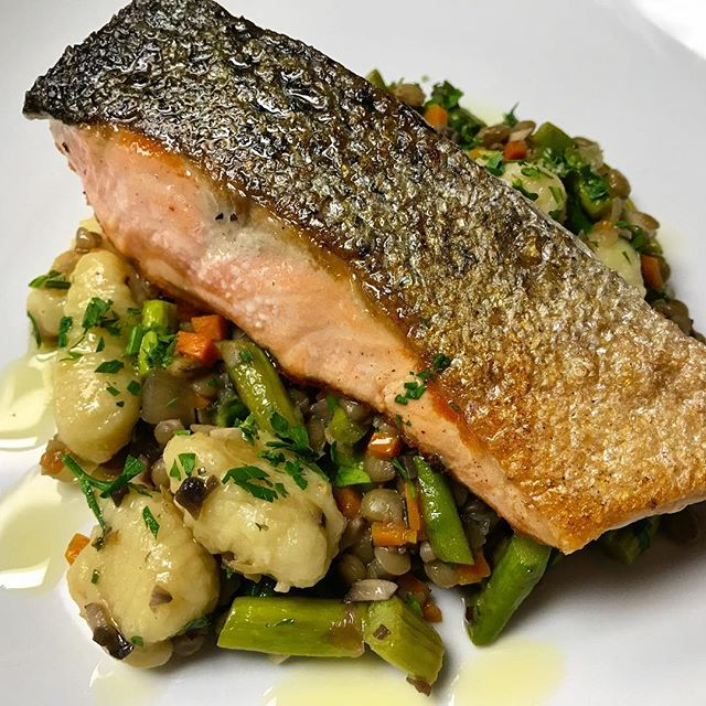 #salmon #fallmenu #feastgram