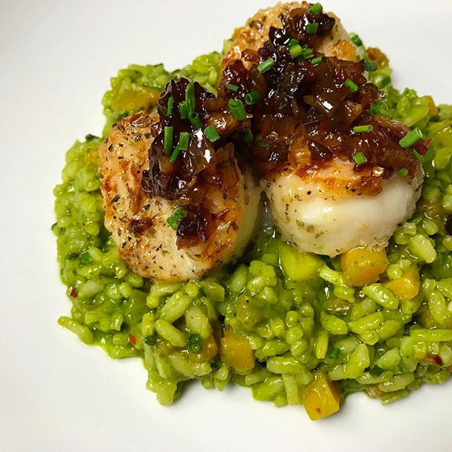 #scallops #fallmenu #feastgram