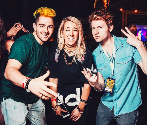 Ricky Dillon. Jenna Marbles and her man. Oh my god.