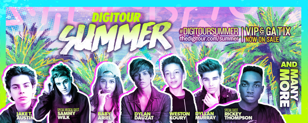 Get 20% off VIP + Backstage tix with code JULY20 for Digitour Summer!