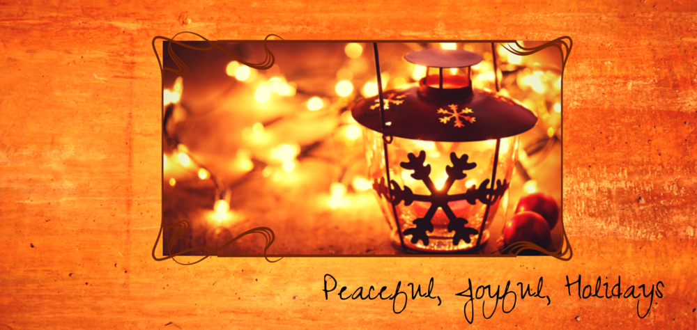 Create Inner Peace and Bring Joy Back to the Holidays!!
