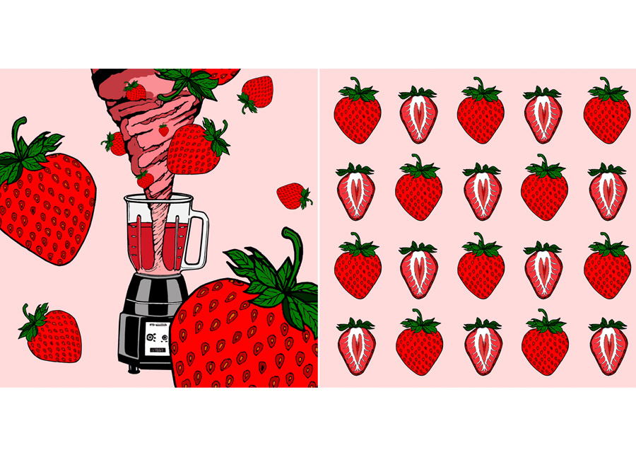 Drink Me Now: Strawberries