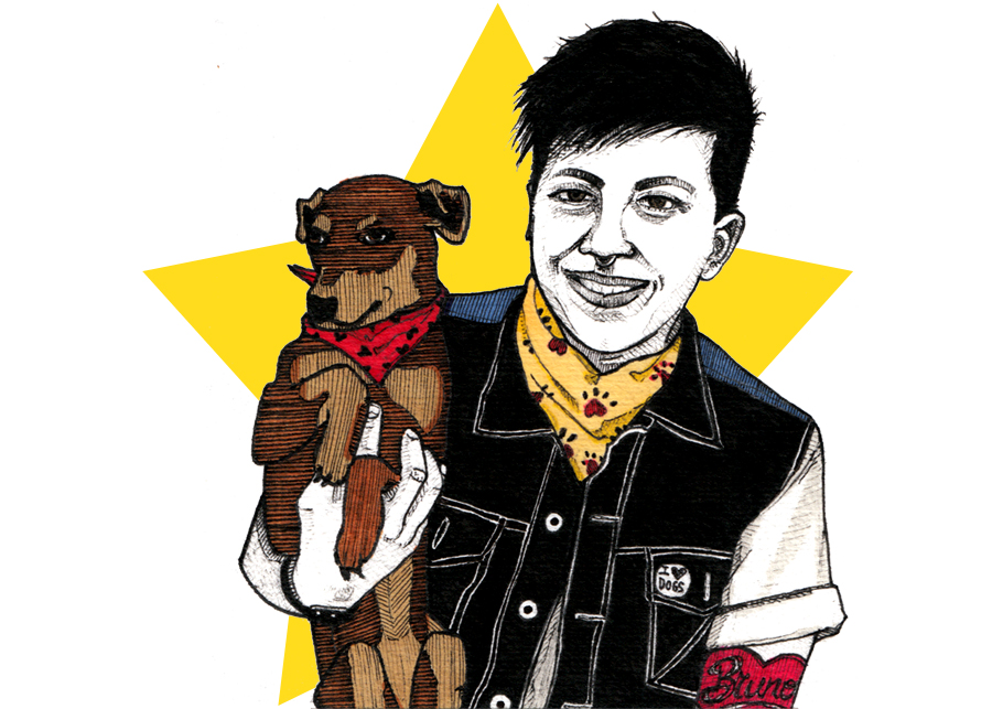 20-Something Dykes You Meet On OkCupid: Dog Loving Dyke