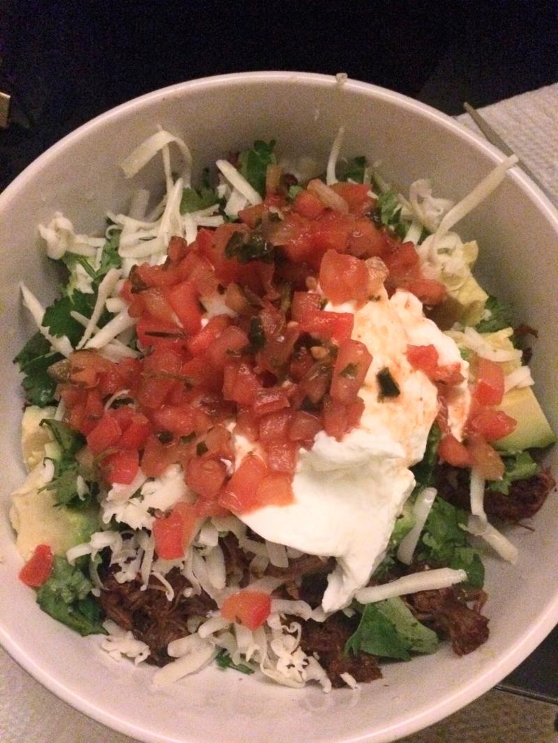 Pot Roast Redux: Burrito Bowl