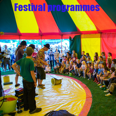 full festival and event panic programmes