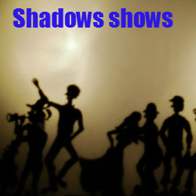 Panic circus shadow puppet shows