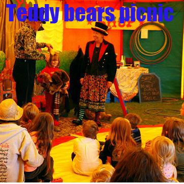 Panic circus teddy bears picnic