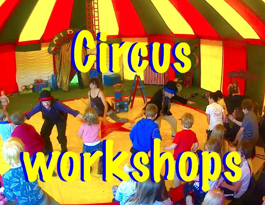 Panic circus skills workshops