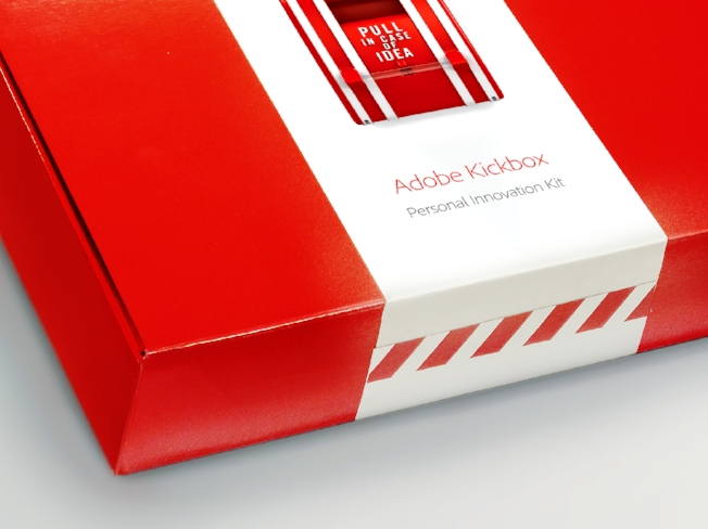 Adobe's Innovation Kickbox, Image Credit:  Forbes