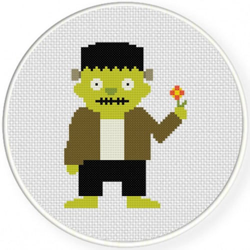 Original Monster Boo Colorways, photo credit DailyCrossStitch.com