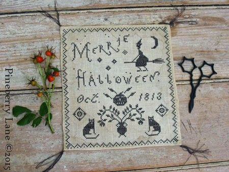 Merrie Halloween - original chart cover, copyright Pineberry Lane 2015