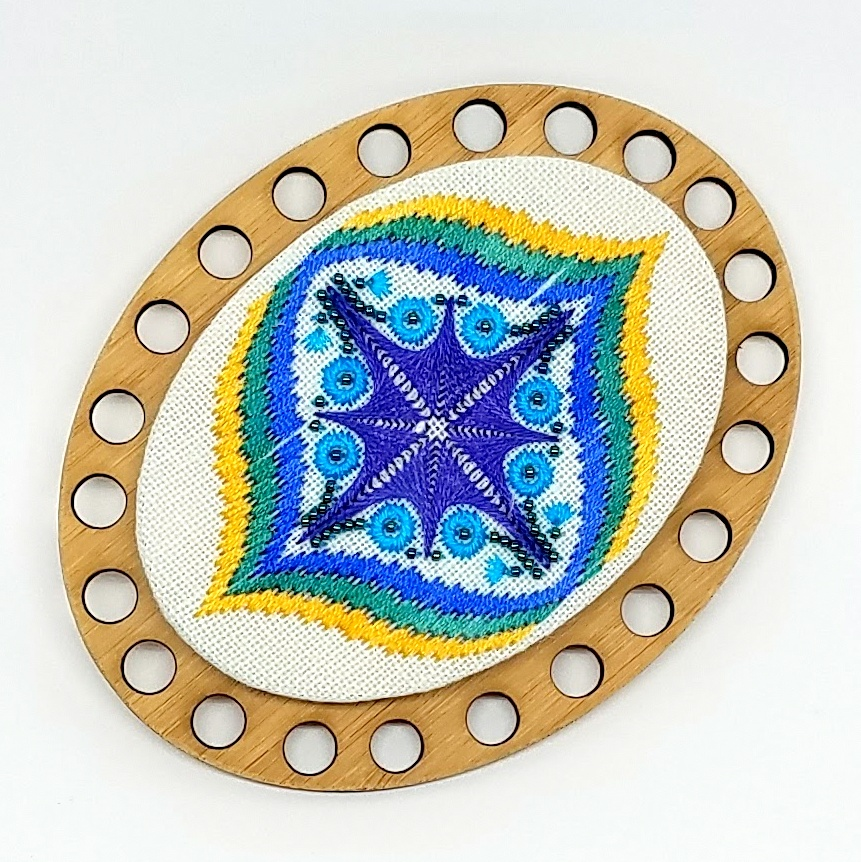 Peacock Medallion - StitchyBox Exclusive - Northern Expressions Needlework