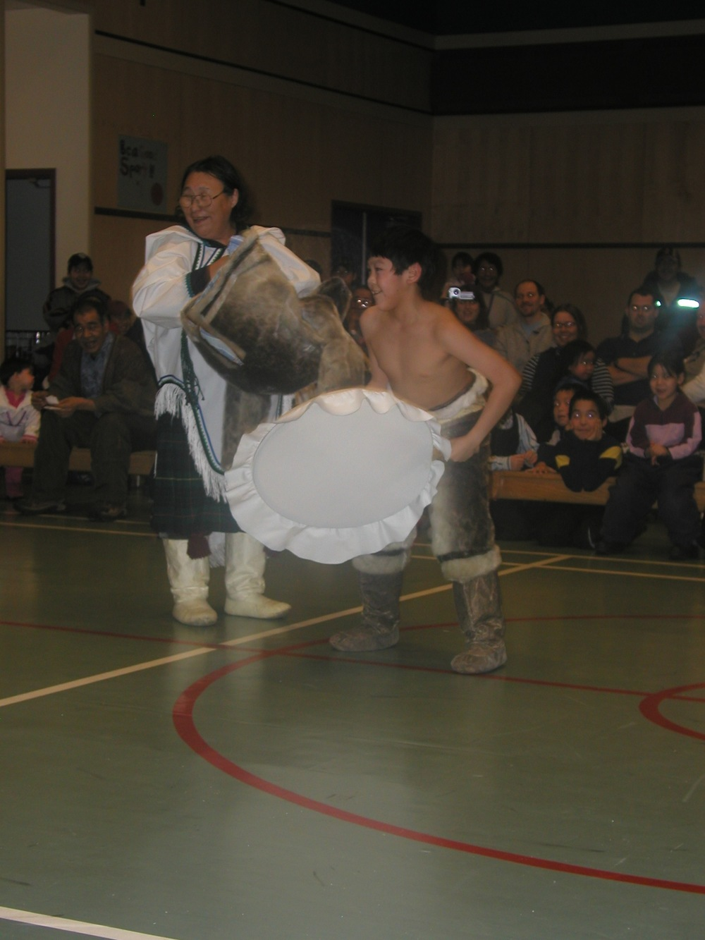 "Moments from Igloolik's Festival of the Return of the Sun, 2006. (See ""Stories and What They Do"" in  This is My Country, What's Yours? A Literary Atlas of Canada .)"