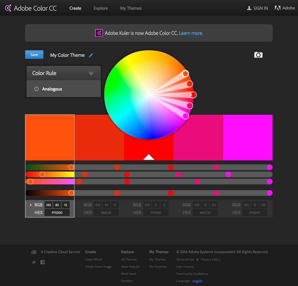 Color adobe online - 1 Adobe Color Cc