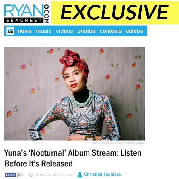 Yuna 'Nocturnal' Album Stream Premiere