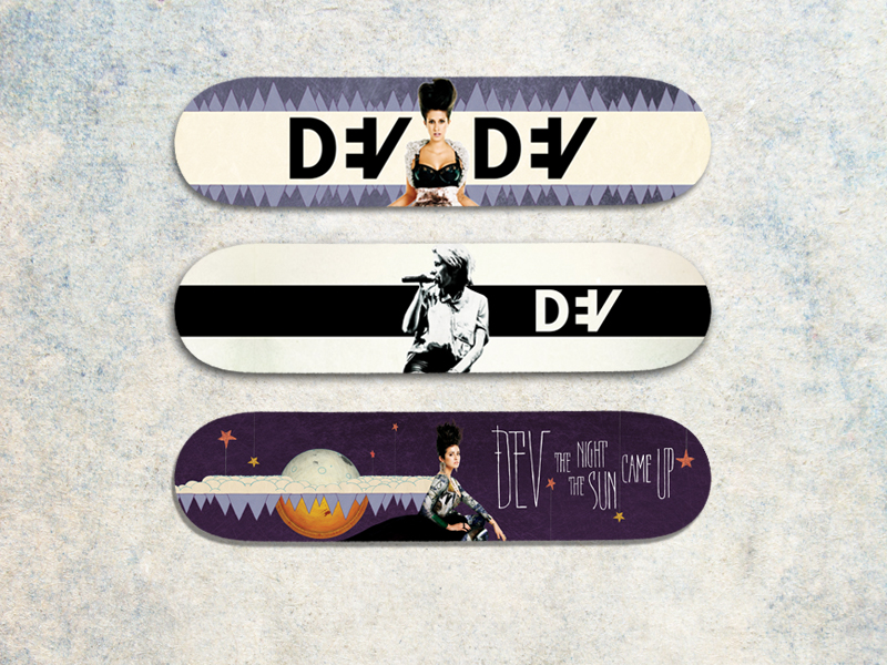 Dev limited skateboard designs