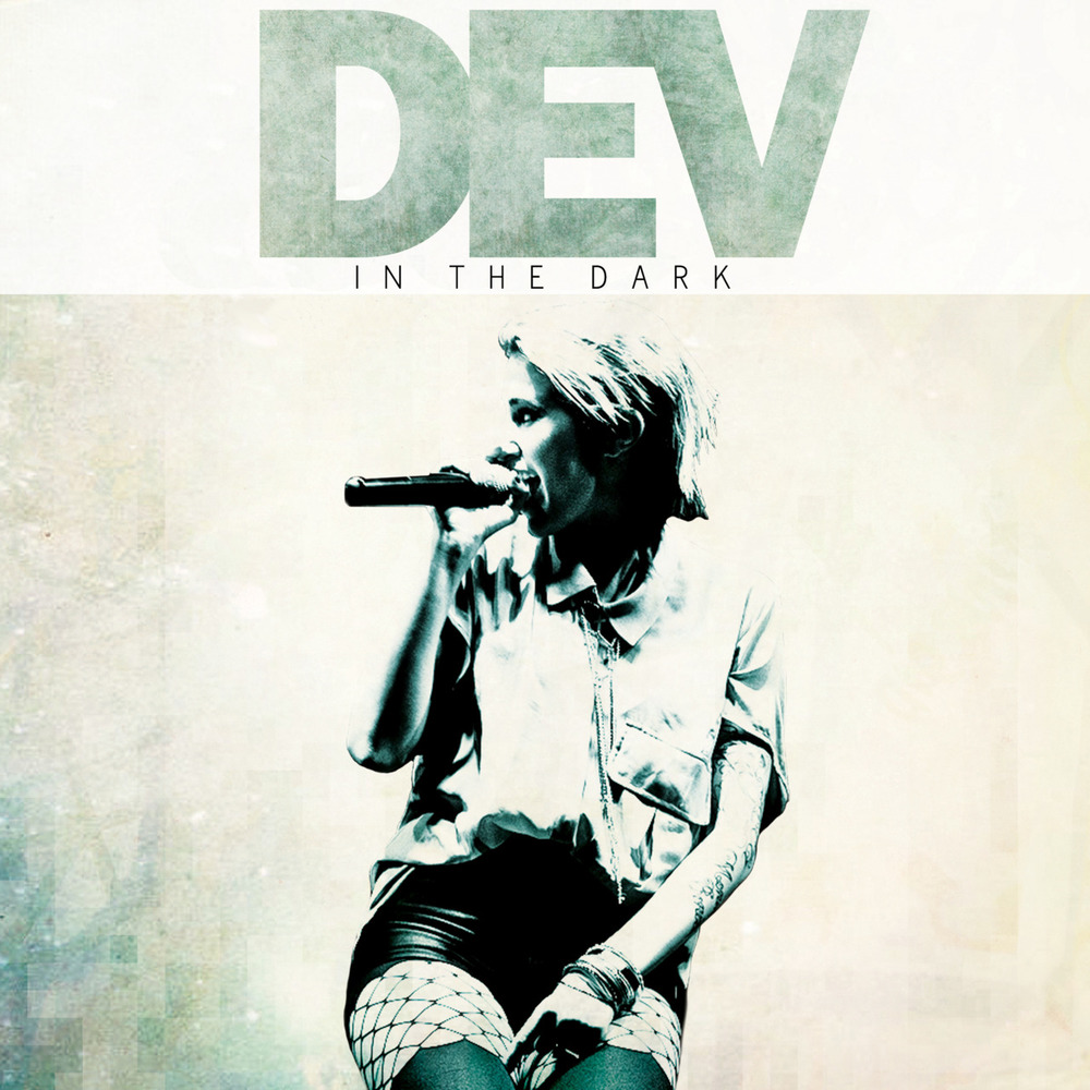DEV - In The Dark - Vinyl Artwork