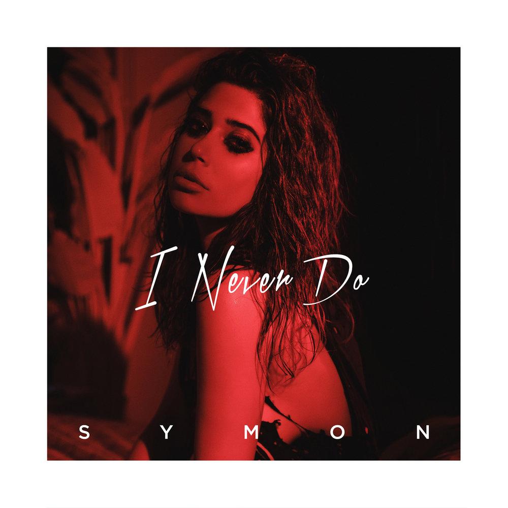 SYMON - I Never Do - Single Artwork