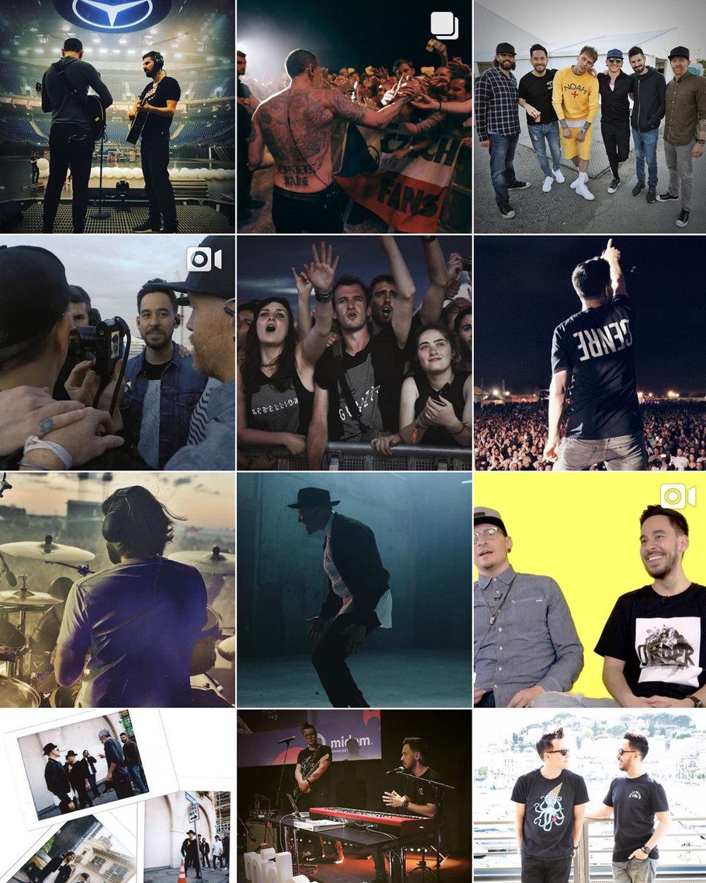 Linkin Park - Instagram