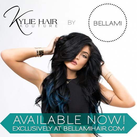 Kylie Jenner for Kylie Hair Kouture by BELLAMI Hair