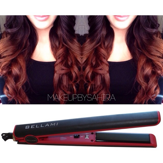 3. Who says you can't curl hair with a flat iron? Not only does our  Runway Flat Styler Iron  provide the most long-lasting curls, but it is designed with a 2.4m 360˚ swivel cord, for a knot-free styling sessions! A flick of the wrist is all it takes to create bouncy curls! So feel free to style as you please without fear of tangling your cord or your gorgeous hair!        We would love to see all of your fabulous posts using our  Runway Flat Styler  Iron! Use #BELLAMIRUNWAY on Instagram so we can check those glam shots out, and who knows we might even shout you out on our page! Be a part of the #BellamiMovement and join #TEAMBELLAMI !