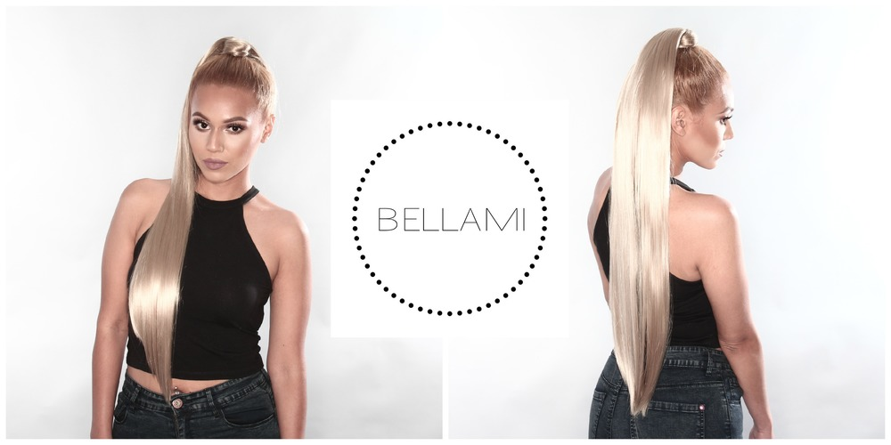 "@keybeauty rocking her BELLAMI Dirty Brown Wrap 200G 28"" Pony"