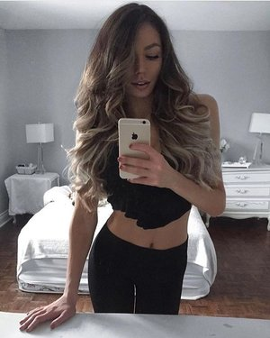 Rise And Shine On A Saturday Morning With The BELLAMI Effect Kylacentomo Is Rocking Hair