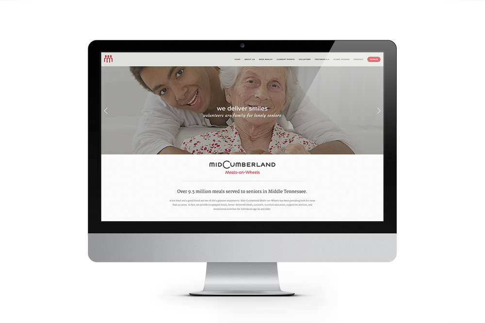 Mid-Cumberland Meals-on-Wheels Website
