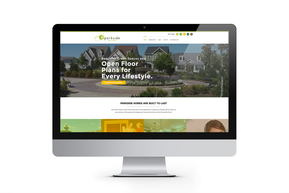 Parkside Builders Website