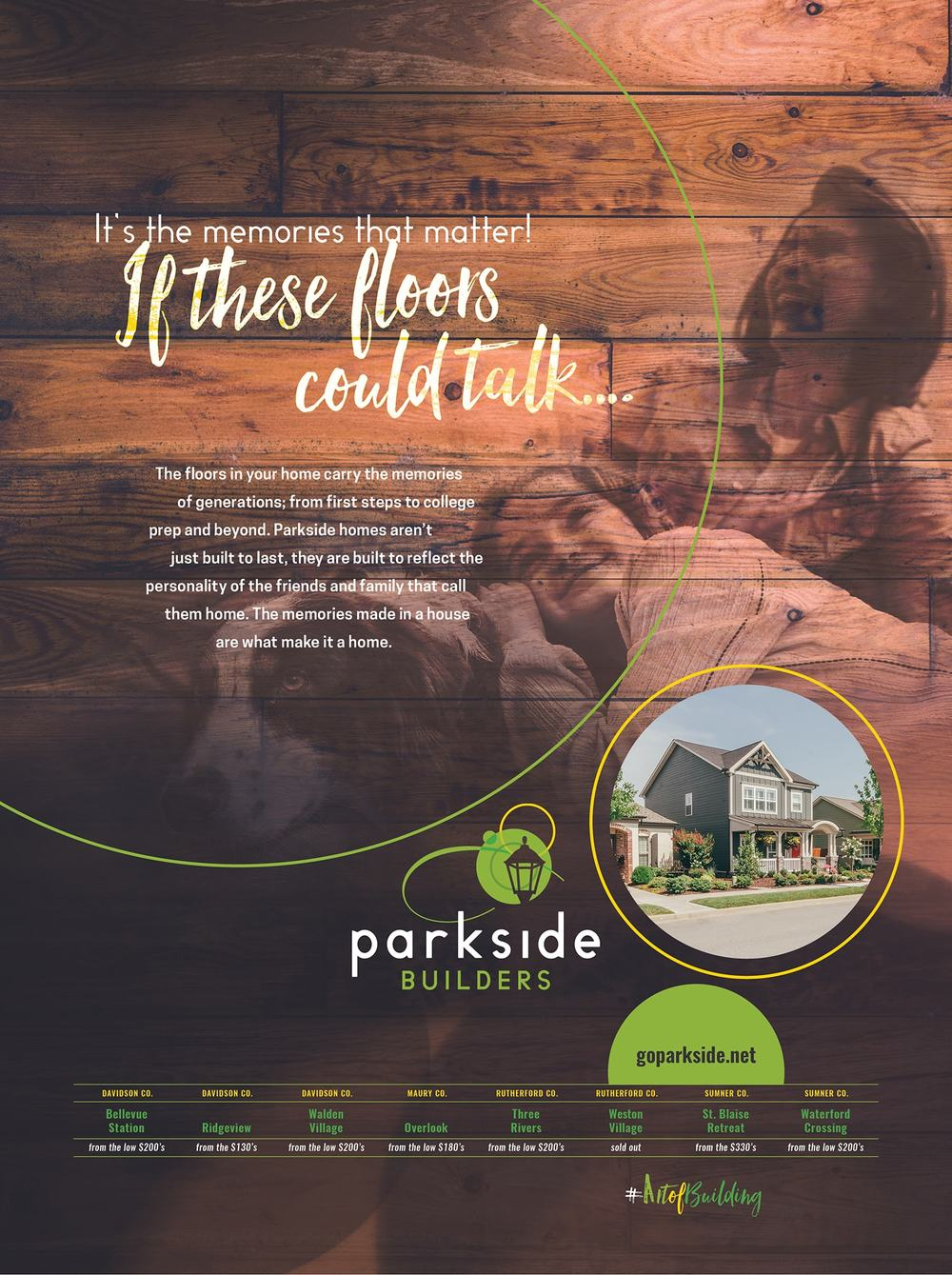 Parkside Builders Ad