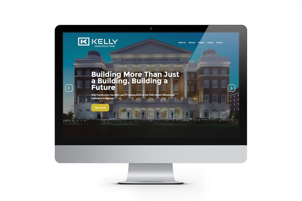 Kelly Construction Website
